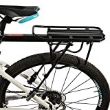 ROCKBROS Bike Rear Rack Bicycle Rear Luggage Carrier Holder Cycling Seat Post Rack Quick Release Bike Rear...
