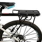 ROCKBROS Portapacchi per Bici MTB Portapacchi Posteriore in Alluminio Sgancio...