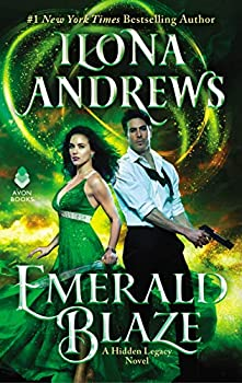 Emerald Blaze by Ilona Andrews science fiction and fantasy book and audiobook reviews