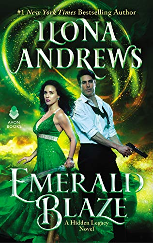 Emerald Blaze: A Hidden Legacy Novel (English Edition)