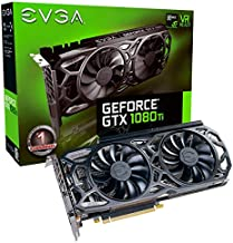 EVGA HL-007304 NVIDIA GeForce GTX 1080 Ti Black Edition 11GB iCX Cooler and LED Graphics Card (Renewed)