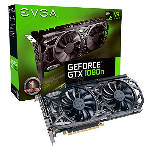 EVGA HL-007304 NVIDIA GeForce GTX 1080 Ti Black Edition 11GB iCX Cooler and LED Graphics Card (Renewed)