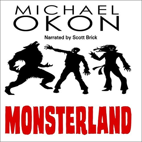 Monsterland audiobook cover art