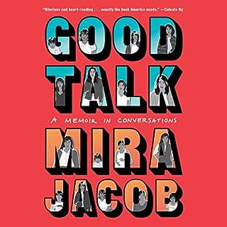 Good Talk audiobook cover art