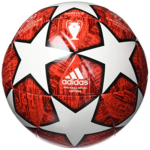 adidas Finale Glider Soccer Ball Off White/Power Red/Solar Red/Active Red Bottom: Black, 3