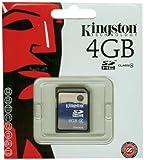 Kingston SDHC - Tarjeta de Memoria de 4 GB (Clase 4)