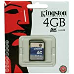Kingston 16 GB Class 4 SDHC Flash Memory Card SD4/16GB 9 Lifetime; 100% Tested for Reliability Free Technical Support Easy to Follow Installation Instructions
