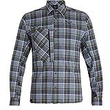 Salewa Fanes Flannel 4 PL M L/S SRT, Camicia Uomo, Grigio (M Grisaille/Ombre/Wh), 50/L