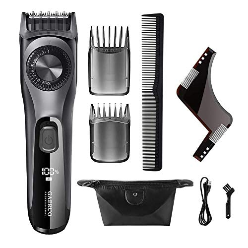 Beard Trimmer and Hair Clipper for Men, Adjustable Electric Trimmer with 38 Length Settings, USB...