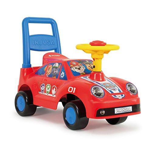 Glijbaan met claxon voor kinderen vanaf 1 jaar Pushtoy Racing Car Paw Patrol