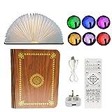 WSMLA LED Livre Lampe coran Haut-Parleur Bluetooth Saint Coran Haut-Parleur Lecteur MP3 avec Traduction Coran Livre