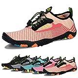 Water Shoes Mens Womens Beach Swim Shoes Quick-Dry Aqua...