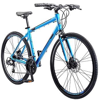 Schwinn Volare 1200 Adult Hybrid Road Bike 28-inch wheel aluminum frame Matte Blue