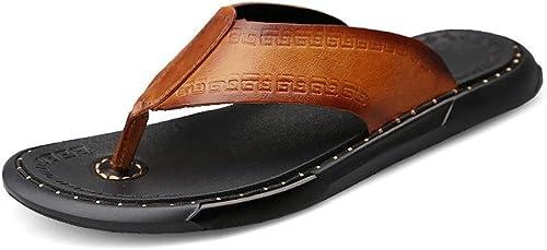 TYX-SS Tongs Homme Chaussures de Plage d'été Sandales antidérapantes