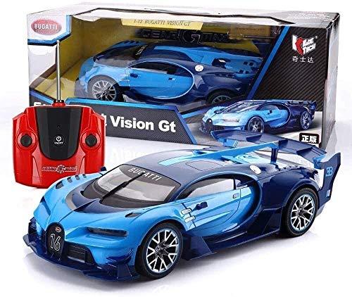1:24 2.4Ghz radio-controlle'd modelo eléctrico RC USB Recargable de la rueda de niños deriva de control remoto coche truco con luces de trabajo, azul, grandes juguetes para niños y niña JoinBuy.R