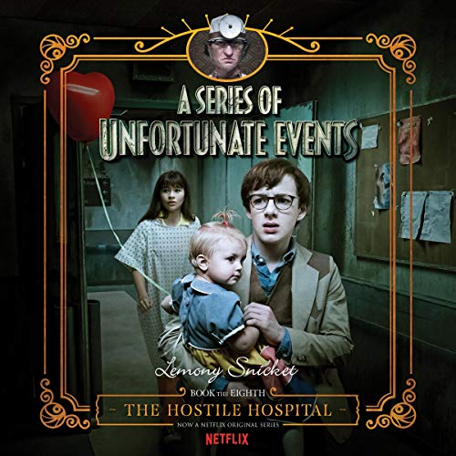 The Hostile Hospital audiobook cover art