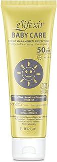 Elifexir Baby Care - Crema Solar Niño y Bebé | Hidratante Nutritiva Resistente Agua | Protector Solar UVA/UVB/IR-A | 100...