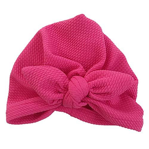 Nieuwe ontworpen schattige baby hoed katoen zachte tulband knoop meisje zomer hoed Boheemse stijl kinderen pasgeboren pet voor baby meisje