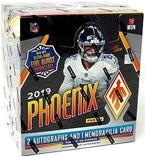 2019 Panini Phoenix NFL Football HOBBY box (12 pks/bx)