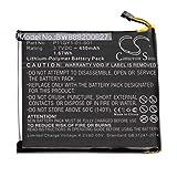 vhbw batería compatible con Nest T200377, T200477, T200577, T200777, T200877 termostato ahorrador...