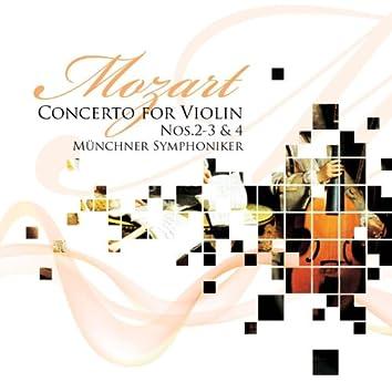 Mozart: Concertos for Violin No. 2 to 3 & 4