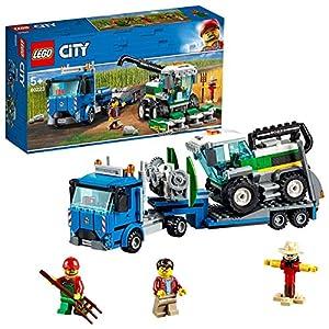© 2018 The LEGO Group / Amazon.co.jp - レゴ シティ 収穫トラクターと輸送車 60223