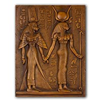 キャンバスにプリントエジプトのキャンバス絵画エジプト象形文字古い表語ポスター写真の装飾現代の家の装飾40x50cmフレームレス