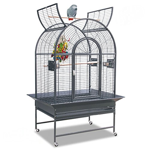 Montana Cages ® | Manhattan Papageienkäfig - in der Farbe Antik, Käfig, Voliere für Papageien