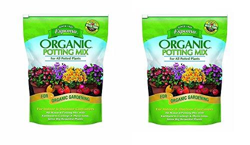 Espoma AP8 8-Quart Organic Potting Mix (1, Twо Pаck)