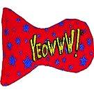 YEOWWW Stinkies Stars Cat Toy