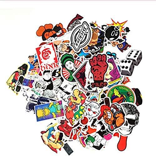 YRBB 100 stuks DIY graffiti-stickers bombe sticker auto motorfiets koffer laptop covers sticker bombe accessoires speelgoed voor kinderen