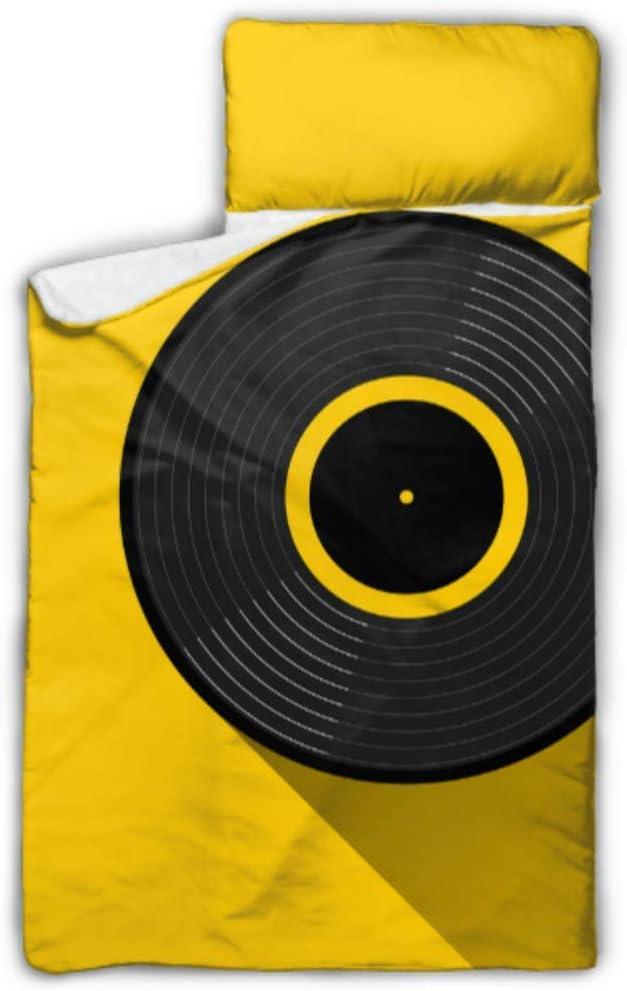 HJSHG Kids Sleeping Bag Easy-to-use Gramophone Vinyl Icon Lp Web Record Nap Detroit Mall