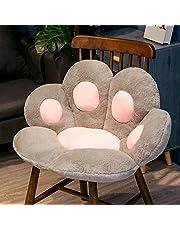 Schattige kat poot terug kussens pluche stoel kussen dier kind zitting kussen sofa mat home sofa indoor vloer winter decor gift