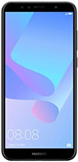 Huawei Y6 2018 - Smartphone de 5.7 (Memoria Interna de 16 GB RAM de 2 GB Display TFT HD+ 18:9 cámara de 13 MP Android 8.0 (Oreo)) Color Negro
