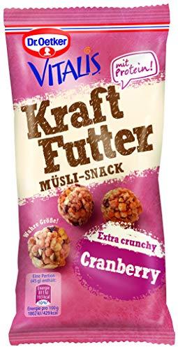 Dr. Oetker Vitalis Kraftfutter Cranberry, 45.0 g