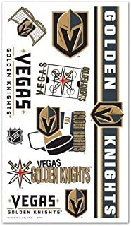 Vegas Golden Knights Tattoos 10 per sheet