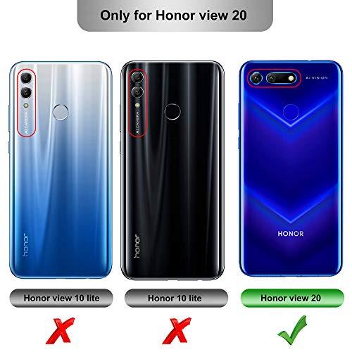 iBetter für Honor View 20 Hülle, Ultra Thin Tasche Cover Silikon Handyhülle Stoßfest Case Schutzhülle Shock Absorption Backcover Hüllen passt für Honor View 20/Honor V20 Smartphone (Blau) - 2