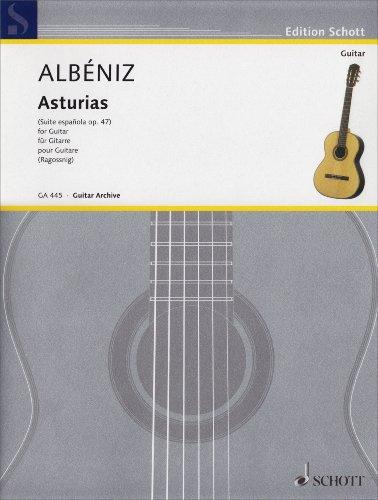 Asturias (Leyenda). Gitarre