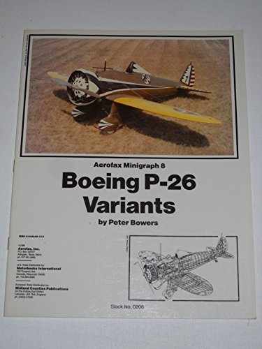 Boeing P-26 Minigraph No. 8