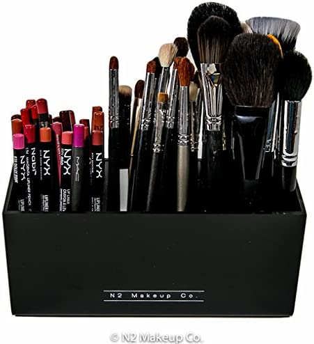 Acrylic makeup brush holders _image4