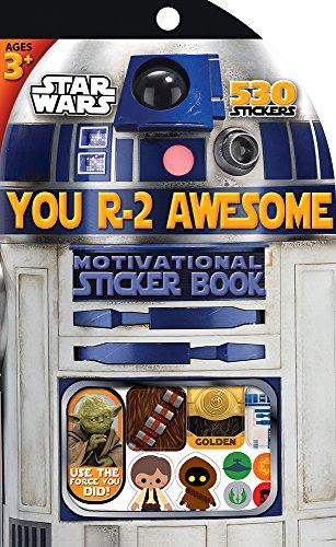 Eureka Star Wars Classroom Supplies Sticker Book for Kids, 530pc