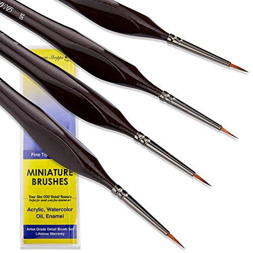 Small Paint Brush Miniature Brushes