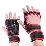 B&H-ERX Gymnastik-Handschuhe Fitness Gewichtheber-Handschuhe Voll Palm Schutz Extra Grip...