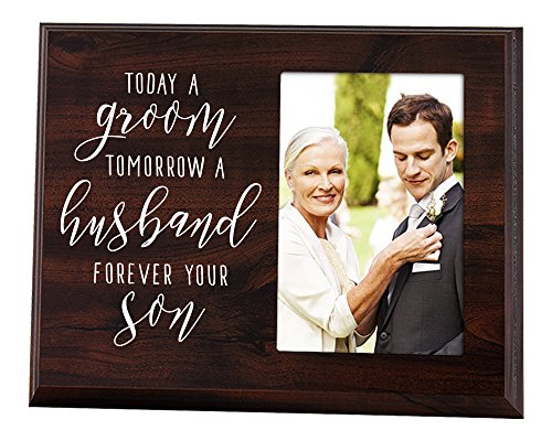 Elegant Signs Mother of The Groom Gift - Today a Groom, Tomorrow a...