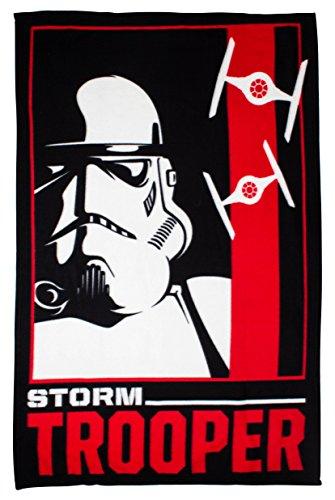 Disney Star Wars Classic Trooper Manta de Forro Polar–Large Print