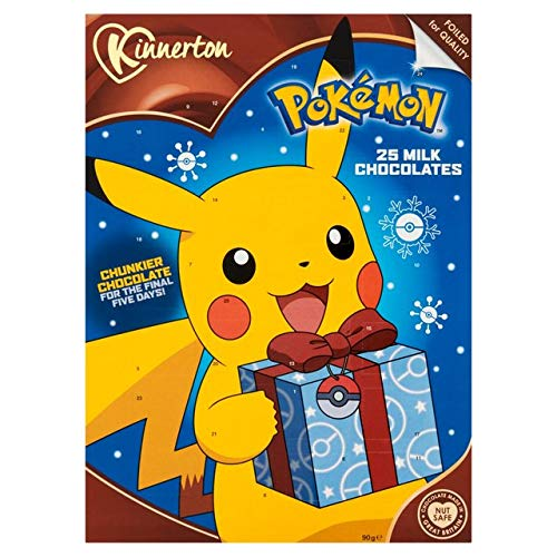 Pokemon Vollmilch-Adventskalender