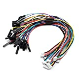 9 PCS 1.25mm to 2.54mm Pitch Dupont Adapter Cable Wire for Pixhawk APM2.8 2.6 Flight Controller Quadcopter RC Drone 2Pin to 8P