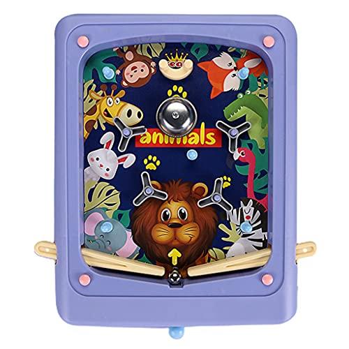 Pinball Machine Asukohu Criativo Pinball Games Cartoon Handheld Game Jogos de tabuleiro interativo para os pais e para as crianças.