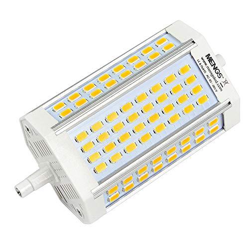 MENGS 30W R7S LED Lampe Nicht Dimmbar 118mm Leuchtmittel Kaltweiß 6000K zweiseitige Sockel R7s Glühbirne Ersatz 240W Halogenlampe 200 Grad 1050lm AC 85-265V für Flutlicht Ersatzlampe