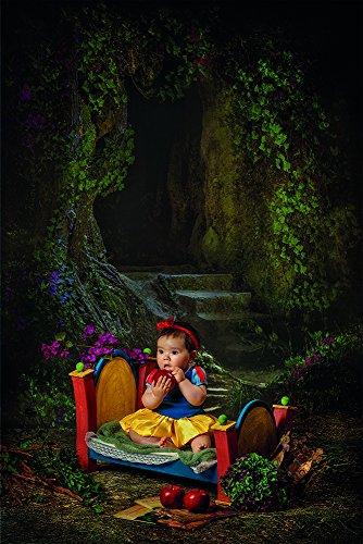Atrezzo, Cama pequeña de Madera, fotografia de Recien Nacidos, Bebes, Infantil